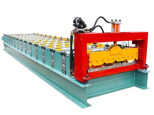 High speed type single sheet roll forming machine