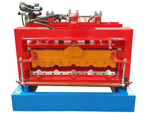 820 type glazed tile roll forming machine