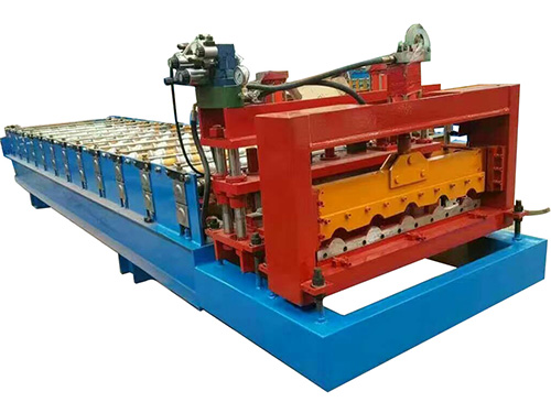 800 type glazed tile roll forming machine