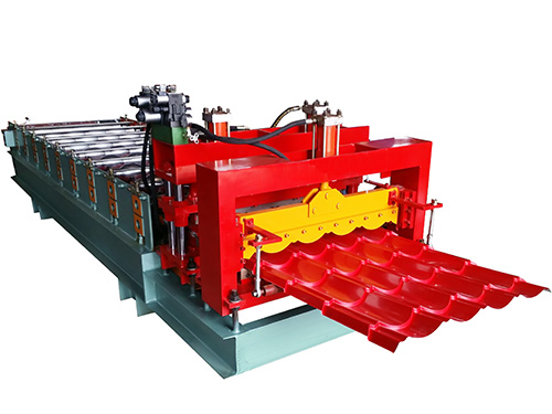 828 type glazed tile roll forming machine