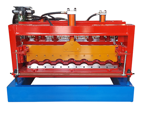 960 type glazed tile roll forming machine