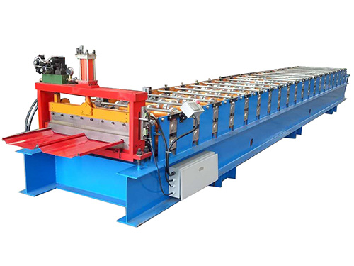 High speed type slip lock profile roll forming machine